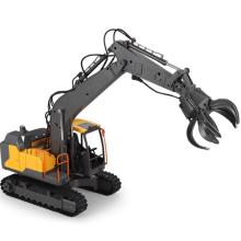 RC Truck Timber Grab Loader Crawler Material Handler Gripper Engineer Machine 2.4G Construction Vehicle Remote Control Excavator