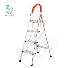 Escalera de 6 pies de aluminio para el hogar, escaleras plegables livianas