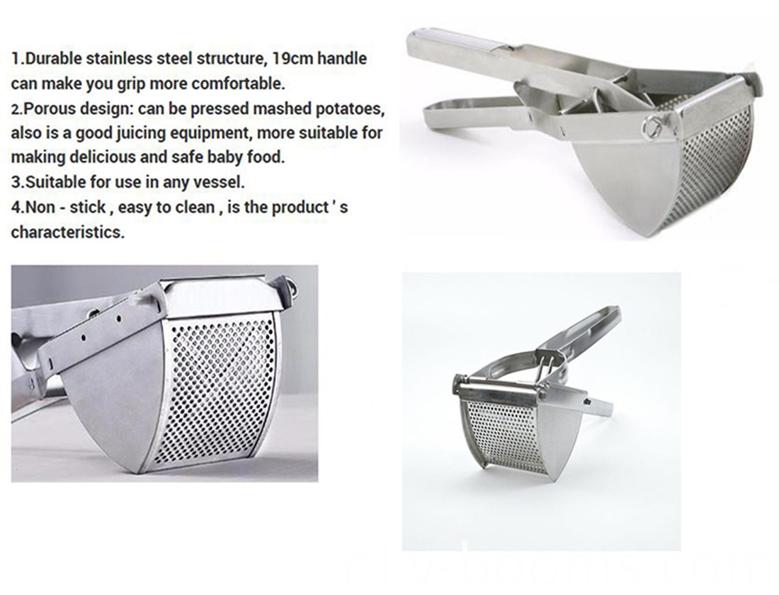 Durable Food Strainer Murphy Musher