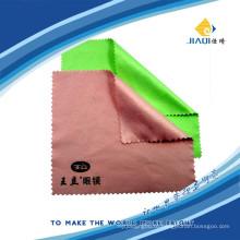 Ткань для чистки серебряным тиснением