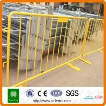 clôture métallique modulaire