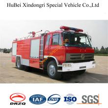 4ton Dongfeng Сухой порошок Пожарная машина Euro2