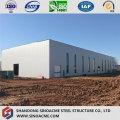 Edifício de estrutura de treliça de aço para armazém de alto crescimento