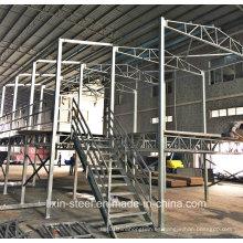 Impermeable y Moistureproof marco de acero casa prefabricada Villa