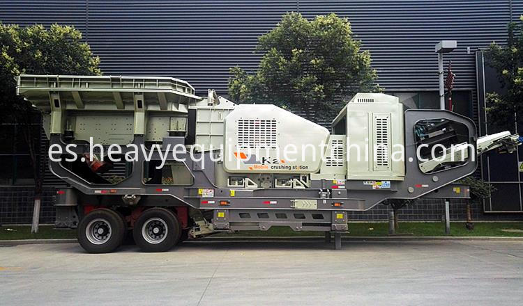 Mobile Rock Crusher Plant