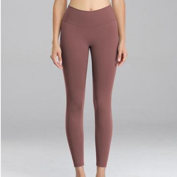 High Taille Yoga Hosen Workout Leggings für Frauen Bauch Kontrolle Weiche Yoga Hosen