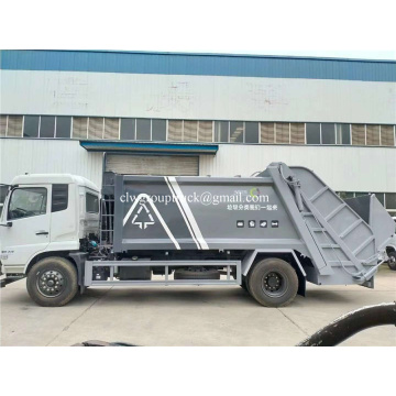 12CBM compactor garbage dongfeng truck