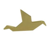 China Wholesale Gold Crane Custom Metal Pin Badges