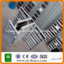 High-efficiency aluminium panel formwork