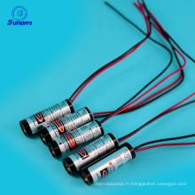 Module de laser point 650nm 10mw de point de focalisation réglable à faible coût