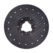 """AF09224 15"""" 175 heightened pad driver with 175 clutch plate and increased pad for floor scrubber brush rotary disc round brushes"""