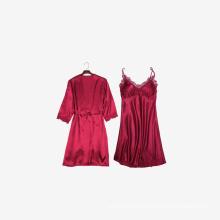 High quality Custom logo 2piece pcs Long sleeve Sleepwear pajama pajamas clothing for Women