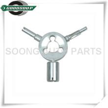4 em 1 ferramenta do núcleo da válvula, Ferramenta de reparo de válvula de pneu, ferramenta de extração de núcleo de válvula