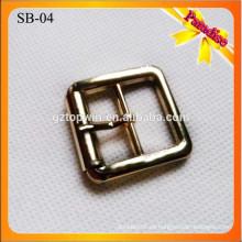 SB04 hebillas de cobre amarillo hechas a mano de encargo del perno del zapato 2.5Cm Hebillas de una hebilla de la hebilla de la hebilla