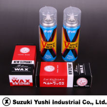 Suzuki Yushi Industrial solid and spray belt wax for improving friction force in flat belt and V-belt. Made in Japan
