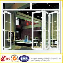 Новый дизайн Складная алюминиевая дверь высшего класса