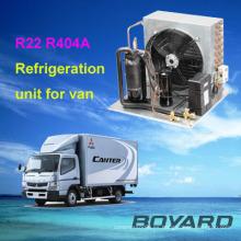 unidad de refrigeración pequeñas de boyang refrigeración partes r22 r404a para carros fractura unidad condensadora