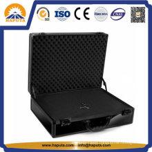 Black Heavy Duty Aluminum Carrying Tool Case (HT-2110)