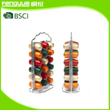 36PCS Chromed Nespresso Capsule Rack (FYN-109A)