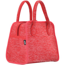 child beach bag Environmental protection diving fabric solid color picnic lunch bags