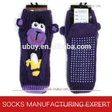 Children′s 3D Floor Socks with Anti Slip (UBUY-158)