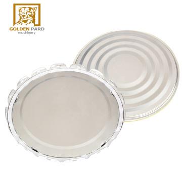 Petal-shaped sealing lid for metal paint bucket