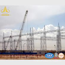Estructuras de líneas de transmisión y distribución de acero