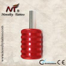 N301004-35mm Tattoo Red Grip Aluminum Alloy Tattoo Machine Tubes