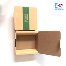Custom logo small kraft Electronic product Bluetooth headset paper packaging with sleeve