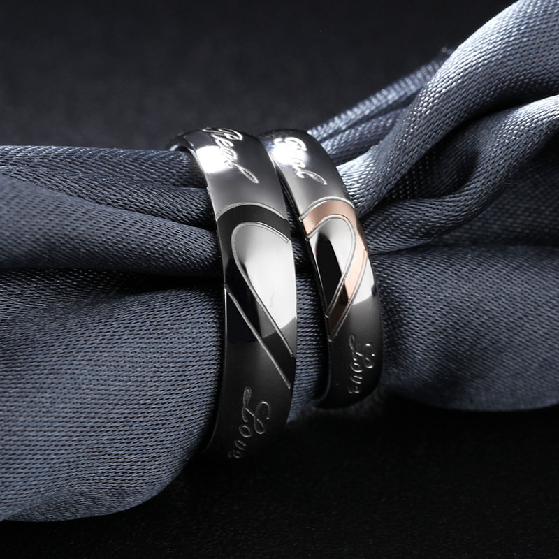 Wedding Ring Set Him And Her