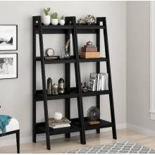 Comprar Popular Black 4 Ladder Modern Bookshelf en línea