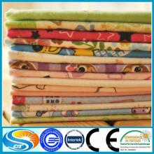 100% algodão 2015 novo design 150gsm baby flanela tecido para cama de bebê conjuntos de tecido de flanela