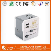 Top10 Best Selling New Fashion Design Travel Adapter avec Usb
