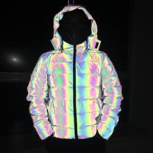 Радужная светоотражающая куртка мужская на заказ