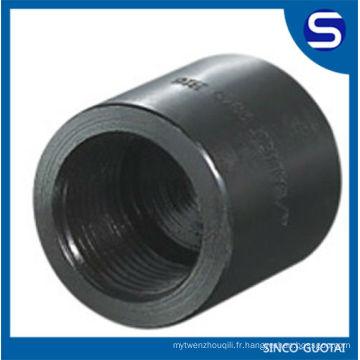 poids de garnitures de tuyau d'acier au carbone / garnitures de tuyau d'acier au carbone / raccord de tuyau d'acier forgé