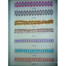 разноцветная синель плетеный ленты,трикотажные тесемки,плоские ленты для дамы и девочки одежда