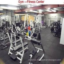 Cheap 2017 Hot Sale Rubber Roll/ Intelocking Gym Club Flooring