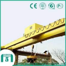 Puente grúa magnético con capacidad de 5 a 32 toneladas