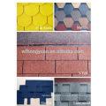 Plain Roof Tiles Type and Fiberglass and Asphalt Material Red Asphalt Shingles