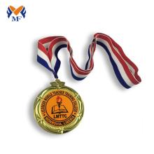Medalha de ouro de material ambiental de vencedores de jogo