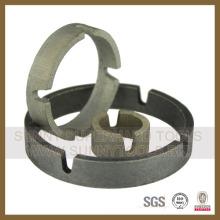 Secteur de la forme de la couronne de diamant pour la foret de base