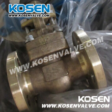 B148 C95800 Aluminum Bronze Forged Steel Gate Valves