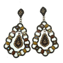 Trendy Bohemia Style Resin Stone Earring (XER13100)