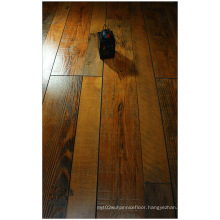 12.3mm Hand Scraped Maple Sound Absorbing Laminate Floor