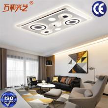 Interruptor inteligente da parede da luz de teto do diodo emissor de luz de Wifi