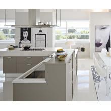 Cabinet de cuisine modulaire en MDF blanc