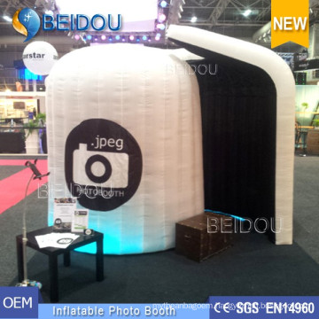 Wedding Photo Booth Frame Enclosure Shell Portable Inflatable Photo Booth