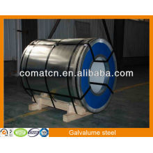 AZ100g/m2 de Aluzinc, acero del Galvalume, planta China