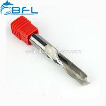 Molino de extremo de corte de acrílico de una sola flauta BFL, molino de carburo de 1 flauta