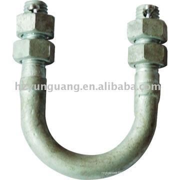 boulon / industrie accessoires / ligne d'alimentation électrique accessoire partie de fer connecteur boulon de fixation